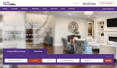 exemples d'agences immobilières