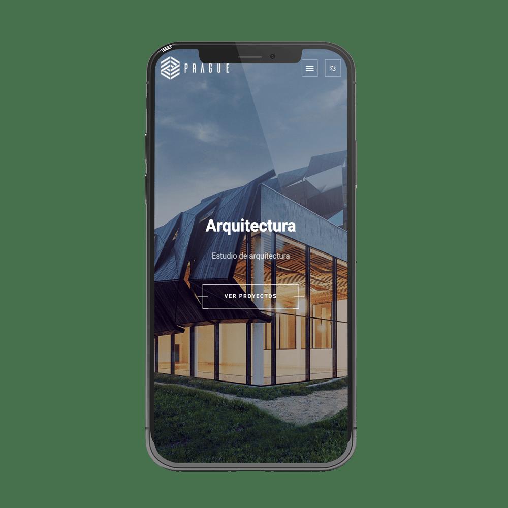 desarrollo app estudio de arquitectura