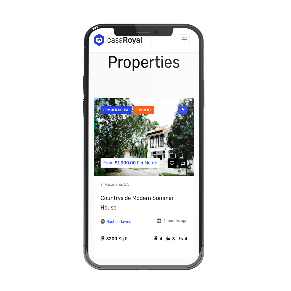 development apps for real estate