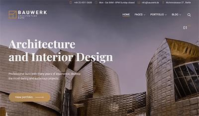desarrollo página web arquitectos