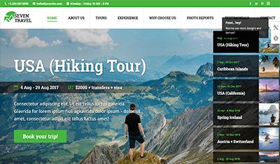 desarrollo páginas web agencias de viajes