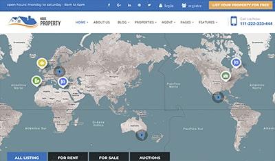 diseño páginas web bienes raices