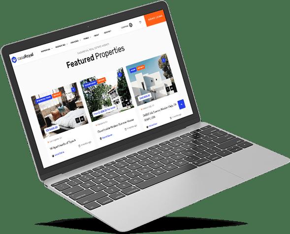 conception de sites web pour l'immobilier