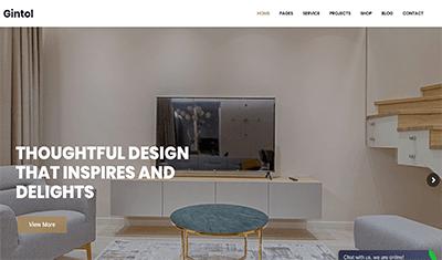 diseño web páginas interiores