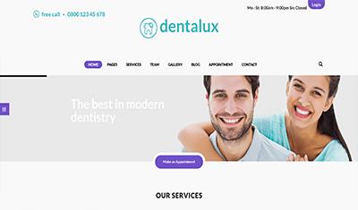 diseño web para odontólogos