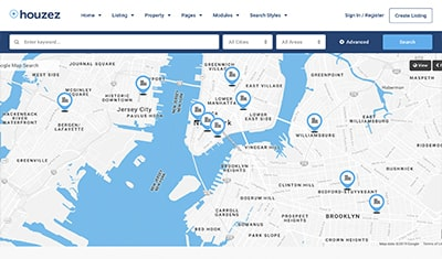 conception de sites web agences immobilières