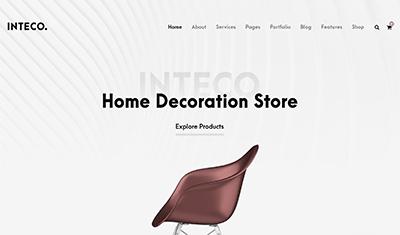 diseño página web decoración
