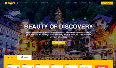 diseño páginas web turismo