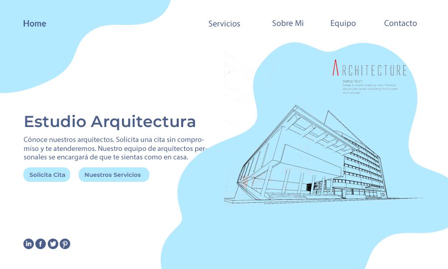 diseño web para arquitectos
