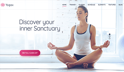 example web pages meditation