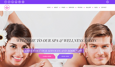 example spa web pages
