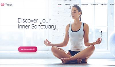 ejemplo páginas web meditación