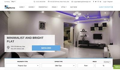 ejemplos páginas web inmobiliarias