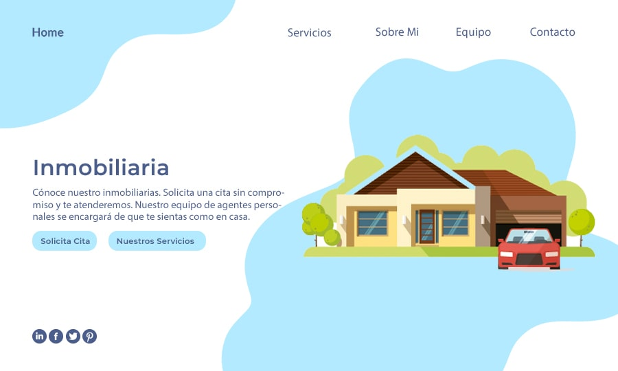 web examples for real estate-min
