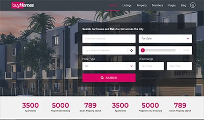 the best real estate web designs