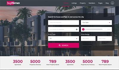 los mejores diseños web inmobiliarias