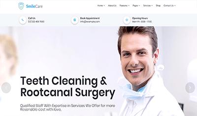 exemple de dentisterie web 4