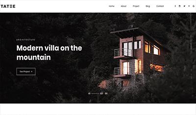 páginas web de ejemplo arquitectos