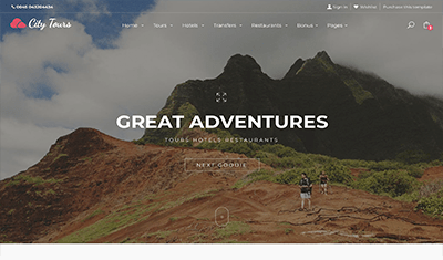 travel agency platform