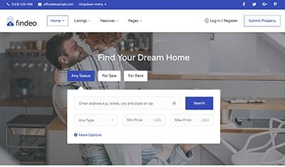 sitios web de ejemplo inmobiliarias