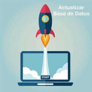 actualizar base de datos