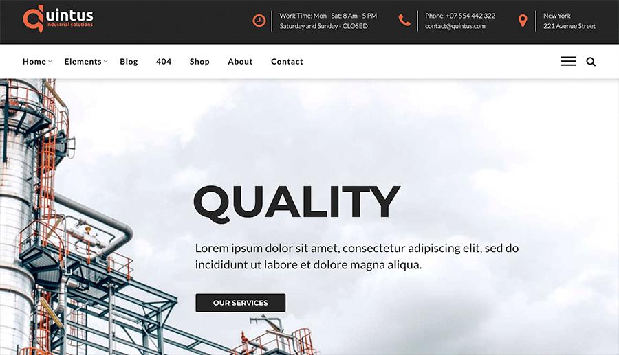Diseño web empresa ingeniería