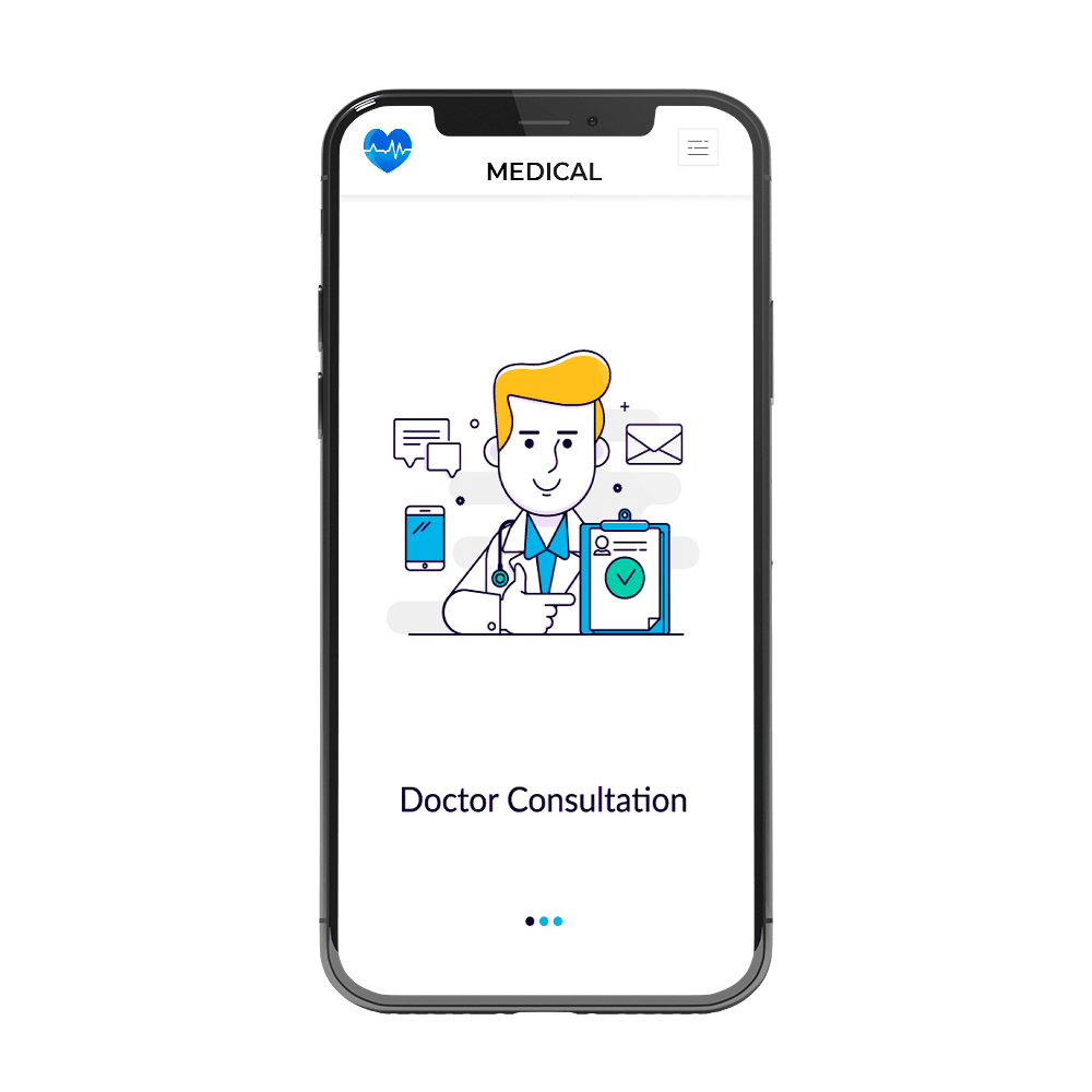 medical sector apps development
