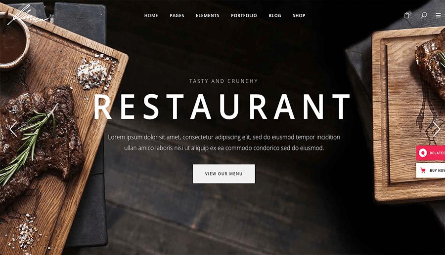 Fast-Food-Web-Entwicklung