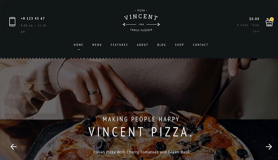 restaurants web development