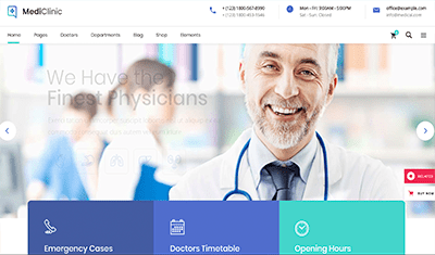 design websites for doctors