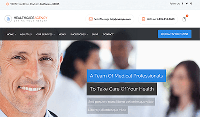 web design for pediatricians
