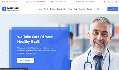 website for doctors