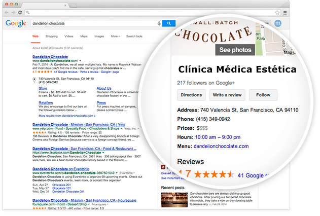 SEO positioning for aesthetic medicine clinics