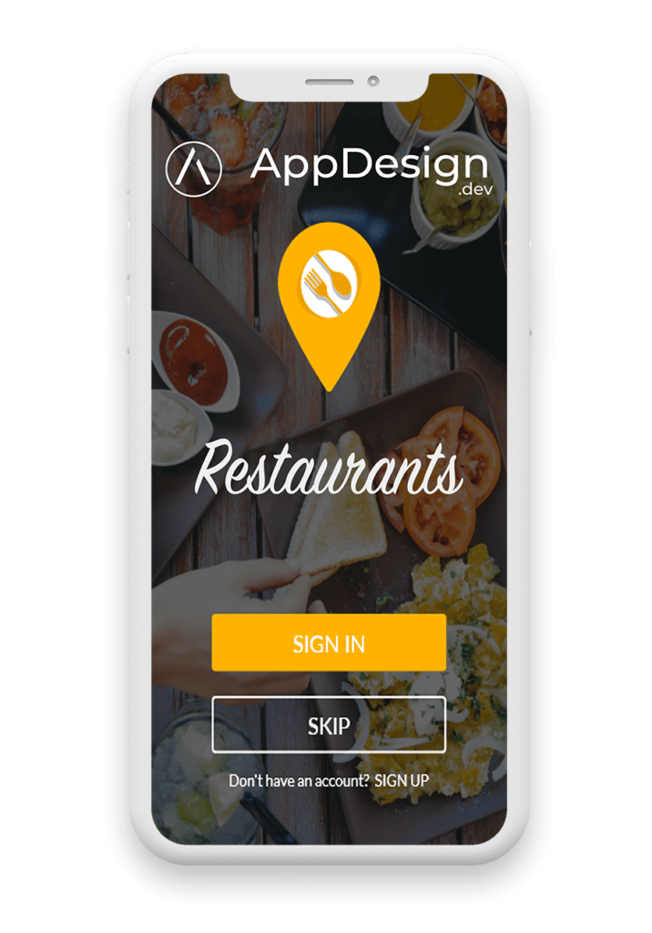 Développement d'applications de restaurant