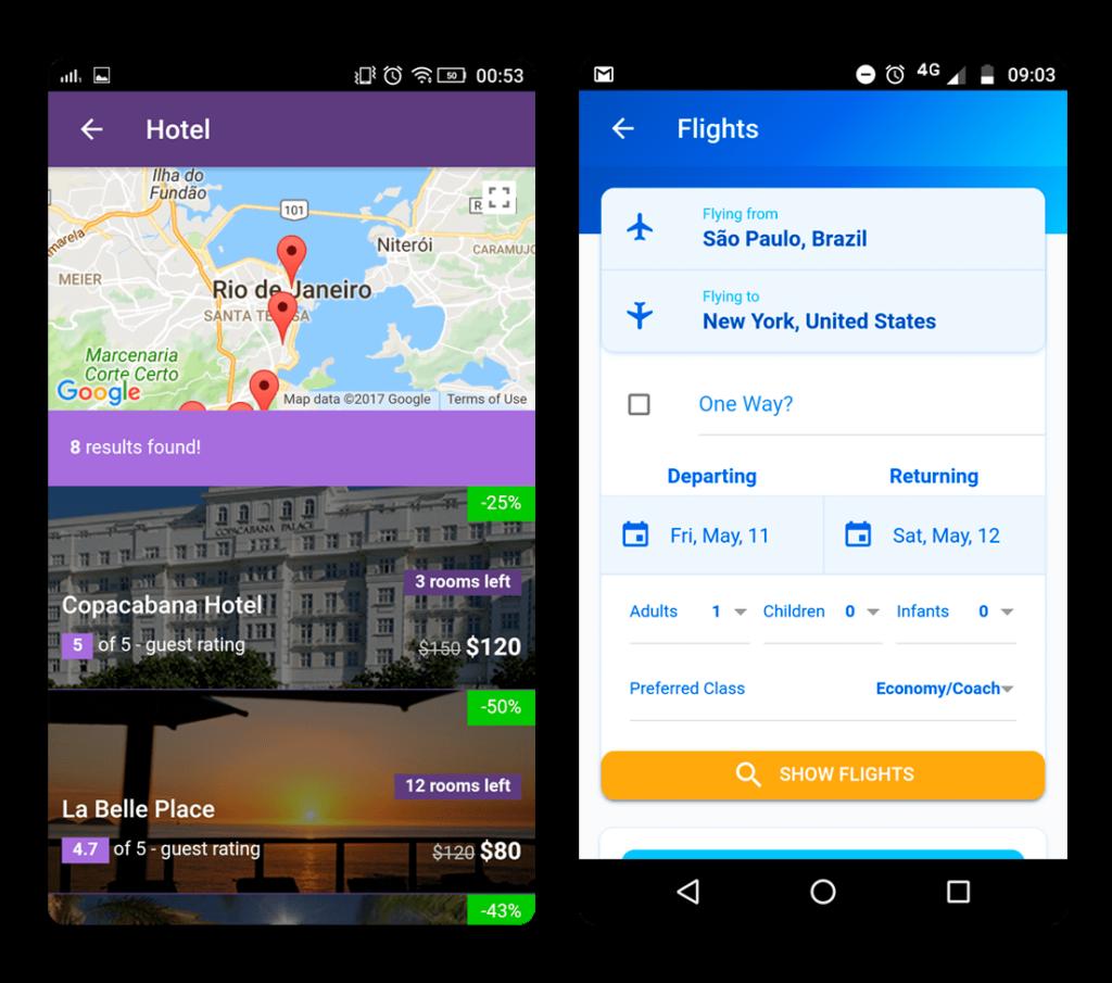 Reisebüro-Software-Anwendung