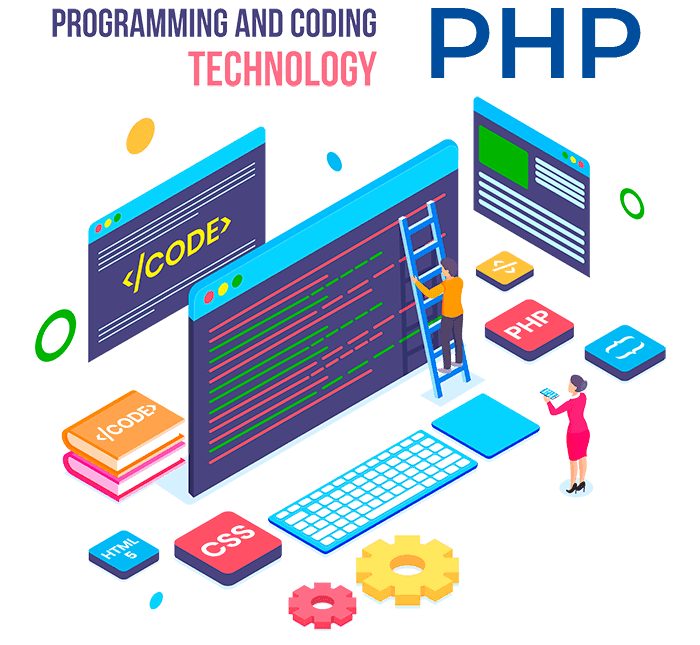 web development with php