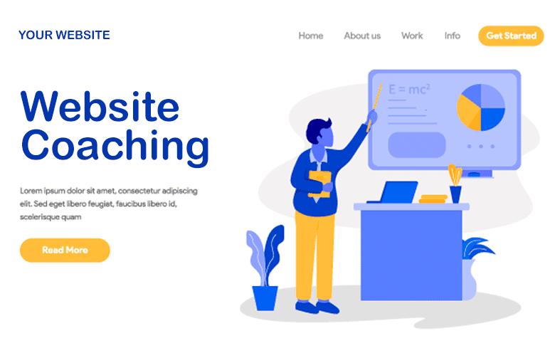 coaching en matière de conception de sites web