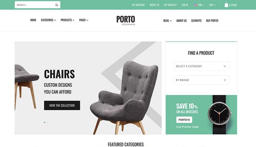 design online store decoration