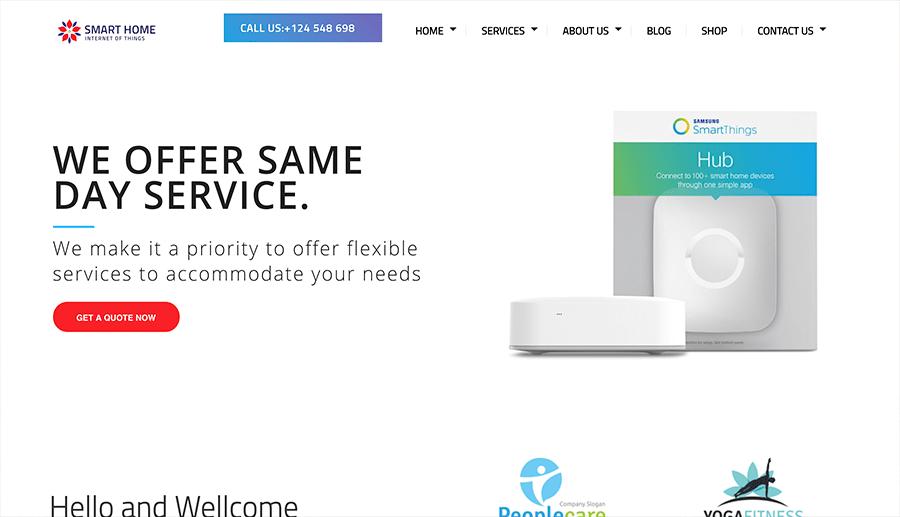 diseño web casas inteligentes
