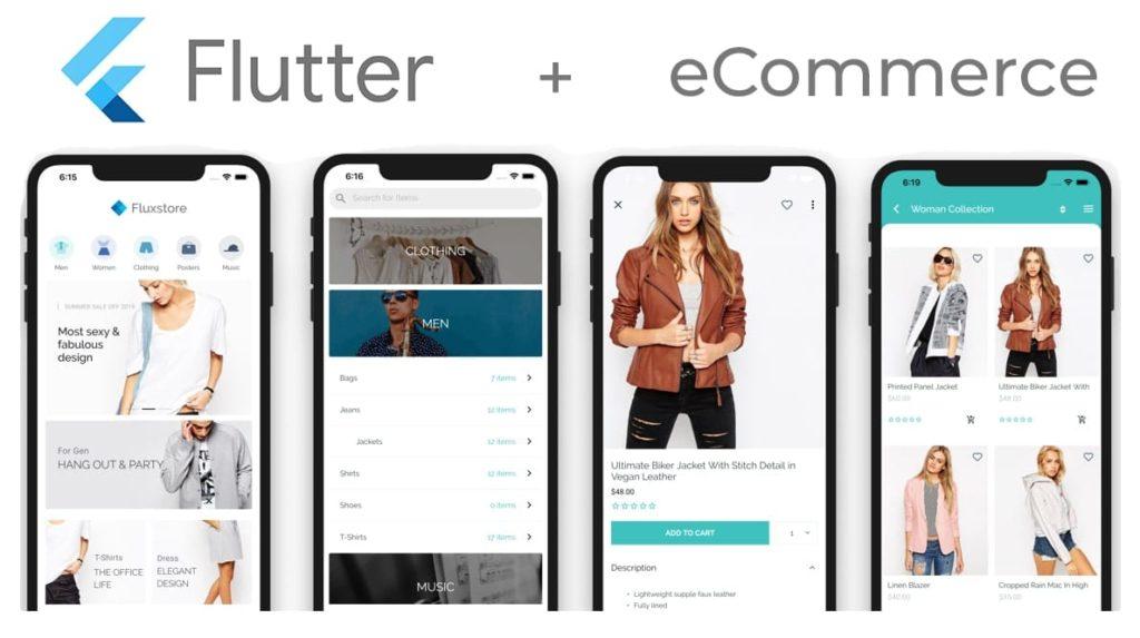 Application de commerce électronique Flutter