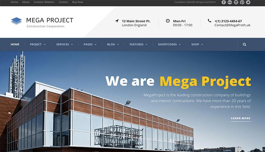 hacemos páginas web para constructoras