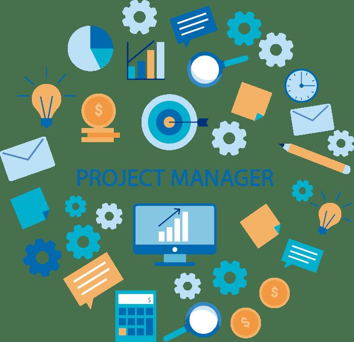 chef de projet pour les entreprises
