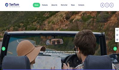 web development for car rental