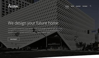 diseño web arquitectura moderna