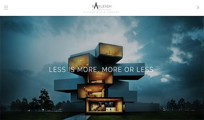 diseño web empresa arquitectura