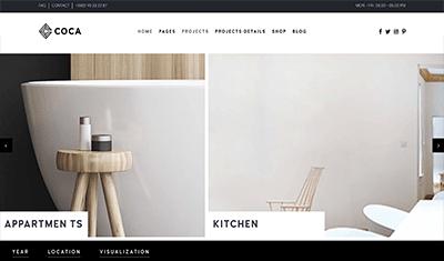 diseño web para empresa decoración