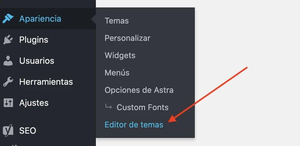 modifier le thème WordPress