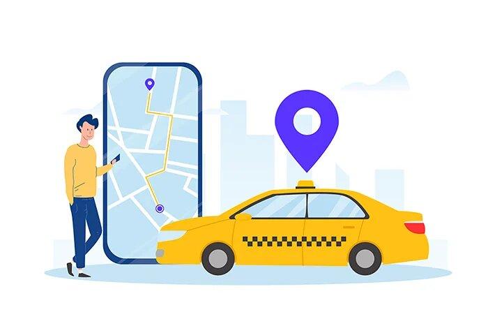 développement de l'app taxi