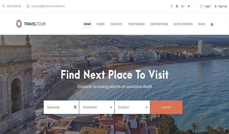 Reise-Website