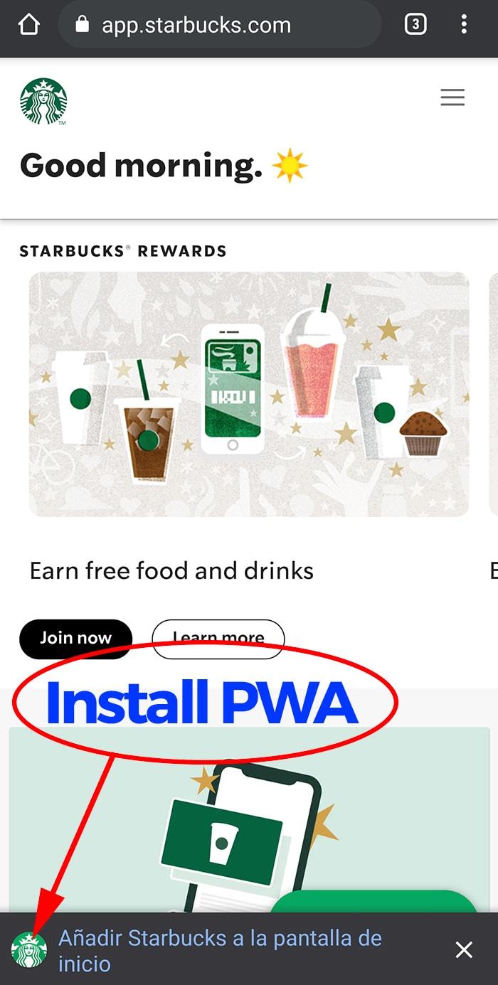 Como crear una PWA